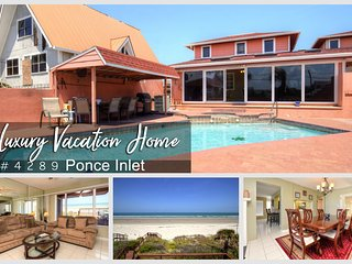 Luxury Pool Home - Direct Ocean Oceanfront Unit - 5BR/4BA - #4289