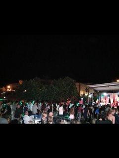 Festa paesana estiva con ballo serale