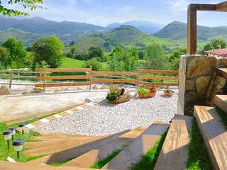 Charming, traditional house in Asturias, Spain, with modern amenities