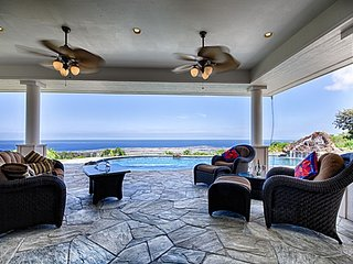 Piko Kona Combo - w/ private pool and spa, spectacular ocean views, 2 homes - ID
