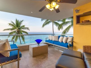 Live the good life at the beach in this beautiful 4/4 condo.