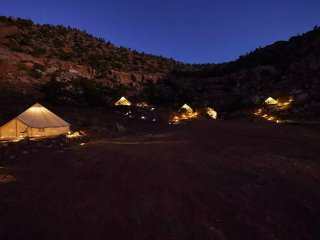 Zion Glamping Adventure -Tent 3