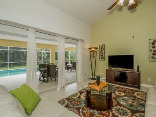 Briarwood single family home w/upscale modern decor & secluded private pool