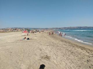 Departamentos frente a la playa