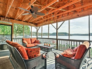 NEW! Lakefront 3BR Sunrise Beach Home w/Boat Dock!