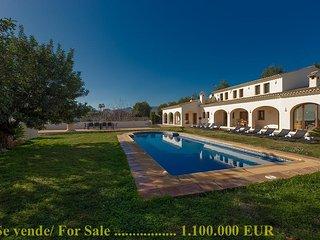 Casa rural Granja en Benissa,Alicante,para 14 huespedes