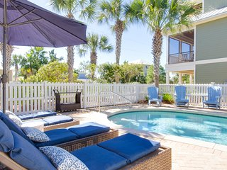 30A Gulfview Home Private Pool 3 min walk to beach