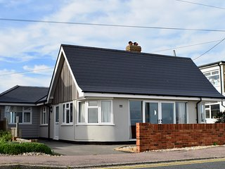 Superb sea views, modernised, 4 beds, 2 baths, miniature train runs at rear.