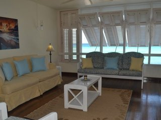 Your living room - no outside wall, just a soothing breeze and a stunning view