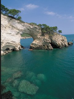 San felice. Another of the many stunning beaches to be found in the Gargano region.