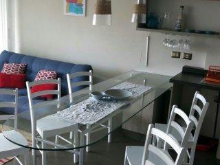 Reñaca Apartamento, vista al Mar, ambiente familiar