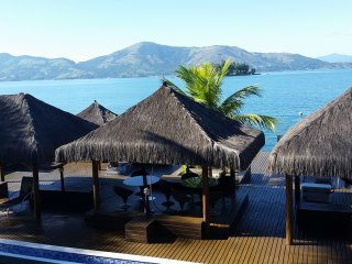 Ang015-Spectacular residence in Angra dos Reis with private pool, beach, gym...