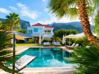 Villa Aphrodite 5-bed villa with heated pool and exotic garden
