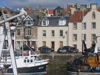 Pittenweem Harbour - the best sea views in Fife? - probably !