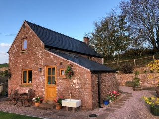Nuthatch cottage.  Rural setting, Wood-burner, wonderful views, wildlife & wifi