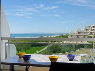 Apartment 500 m from the center of La Grande-Motte with Internet, Lift, Terrace