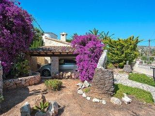 House in Teulada with Internet, Parking, Terrace, Garden (90643)