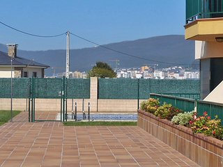 Apartment 703 m from the center of Foz with Lift, Parking, Terrace, Garden