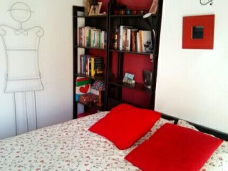 Habitacion cama de 1.60 bano y TV -WIFI