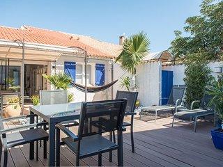 Villa 'les palmier' 150m plage,calme, tout confort