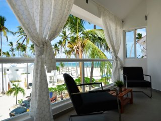 Flor Del Mar-1Bdr Ocean View,1step to Los Corales Beach!ONLY $109 MARCH 11 to 18