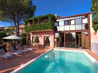 Taormina Villa With Pool, Villa La Boheme