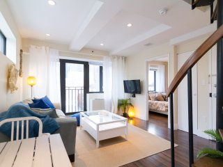 PH~Prime Hell's Kitchen~2BR~Private Terrace~Elevator~ W/D in the unit