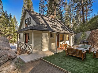 Big Bear Cabin w/ Hot Tub, Sauna & Lawn Games!