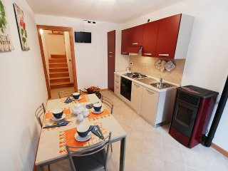 House in the center of Barcis with Internet, Washing machine (253137)
