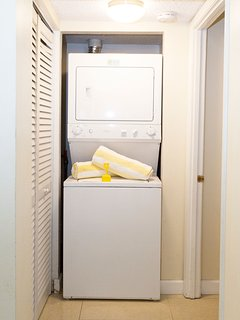 Washer & Dryer in the unit