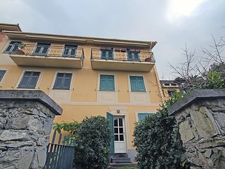 Apartment 475 m from the center of Camogli with Parking, Washing machine