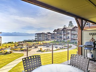 NEW! 2BR Condo w/ Views of Flathead Lake & Mtns!