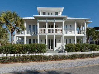 Rock Lobster! A luxurious home with pool/hot tub steps to the beach!