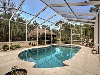 Bokeelia Cottage w/ Private Pool & Tiki Bar!