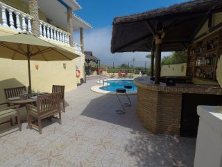 Luxury Villa with Apartment, Private Pool with Outstanding Views - sleeps 14