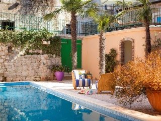 Dalmatian stone villa with pools for rent, Jelsa, Hvar