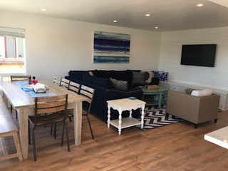 New Listing! Newly remodeled, sumptuous 5 BR Cayucos house sleeps 12