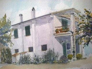 Casa fra i campi a pochi passi dal mare