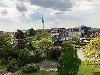 DIREKT AM WASSER - Designer Ferienwohnung in Bremerhaven