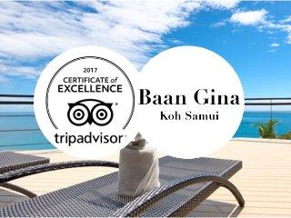 Baan Gina, SeaView 5BR Nest, Samui