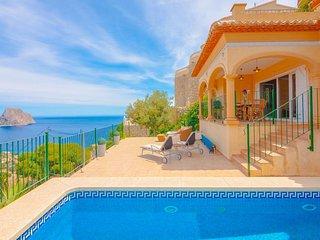 Villa Amparo en Calp,Alicante,para 10 huespedes