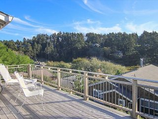 Ocean-view Manzanita Tri-Level Brings You a Treasure-Trove of Amenities!