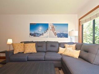 Ski in Ski out - Large 3 bedroom sleeps 8 - Quiet Area - roof top hot tub