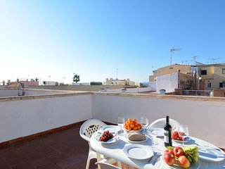 Townhouse  Es Molinar apartment in Palma with WiFi, air conditioning & private t