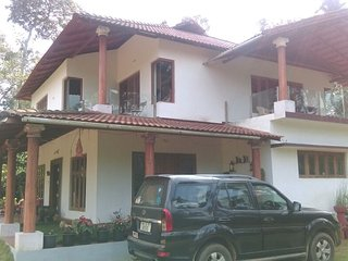 THE BED COFFEE-a plantation bungalow stay near Kakkabe trekking point-COORG.