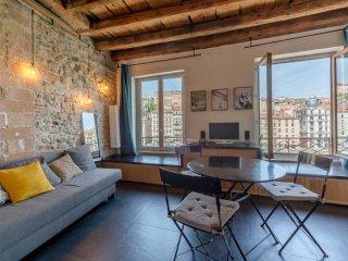Splendide appartement avec vue sur la Saone