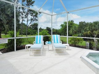 Deck area with loungers