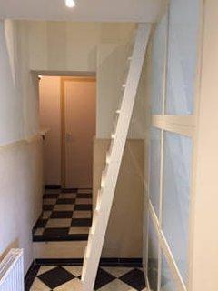 Escaliers vers le vide du sommeil