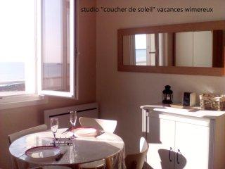 Studio 'Coucher de Soleil'  vue sur mer
