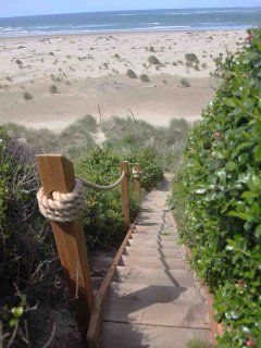 Sandy Beach with Private Access.